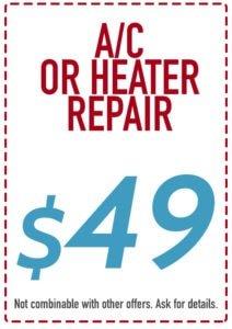 Riverside air conditioner, Riverside HVAC, Corona air conditioner, Corona HVAC, Temecula air conditioner repair, Temecula HVAC, AC or heater repair coupon